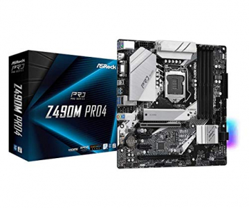 ASRock Z490M PRO4 Motherboard