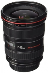 canon ef 17-40mm f4l wide angle lens