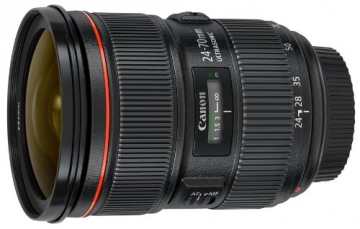 canon ef 24-70mm f2.8 camera lens