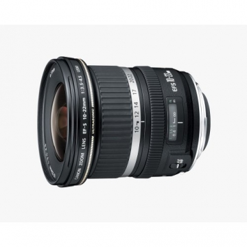canon ef-s 10-22mm camera lens