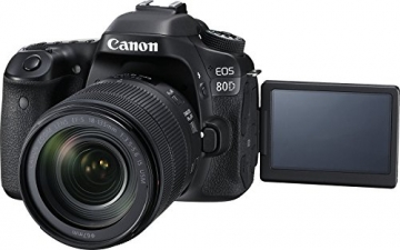 Canon EOS 80D DSLR Camera with Lens