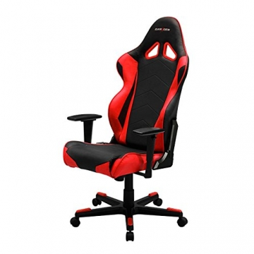 DXRacer RE0/NR Black Red Gaming Chair