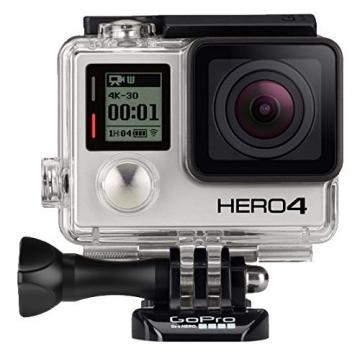 gopro hero 4 black action camera
