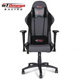 GT Omega PRO Racing Chair Grey and Black