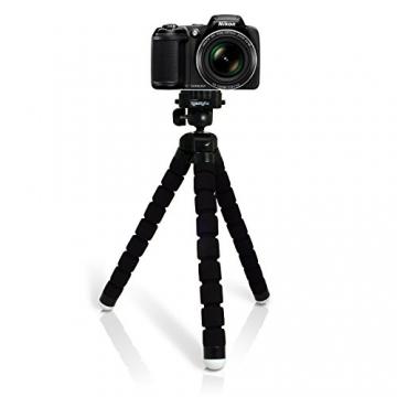 igadgitz flexible camera tripod