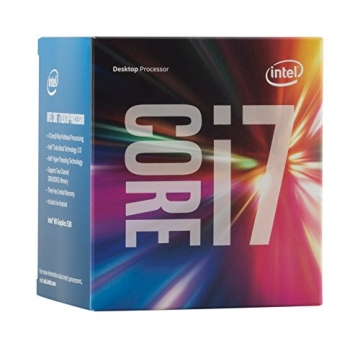 Intel Boxed Core I7-6700 FC-LGA14C 3.40 GHz Processor