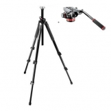 Manfrotto 055XPROB Tripod with Manfrotto MVH502AH Head