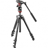 manfrotto mvbkfr be free video tripod kit