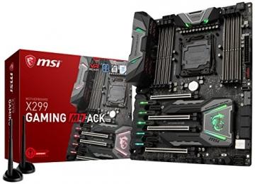 MSI Gaming Intel X299 ATX Motherboard