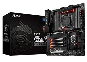 msi x99a godlike computer motherboard