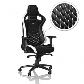 noblechairs EPIC Gaming Chair - Black/White