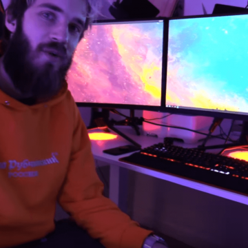 PewDiePie Setup