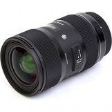 sigma 18-35mm camera lens