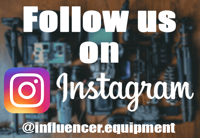 Influencer.Equipment Instagram