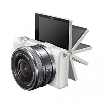 sony a5100 16-50mm mirrorless vlogging camera